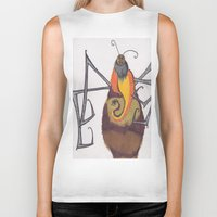 coconut wishes Biker Tanks featuring Coconut Spider by thaBleakUgly