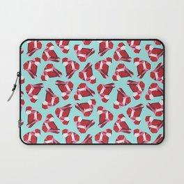 Red Gemstone Laptop Sleeve