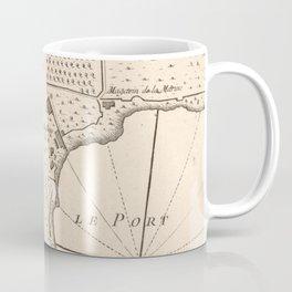 Vintage Map of Monaco France (1764) Coffee Mug