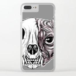 Shynx Half Skull Clear iPhone Case