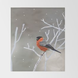 Safe transitions! // (polygonal bull-finch) Throw Blanket