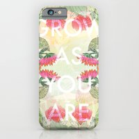 Grow As You Are iPhone 6s Slim Case