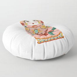 Intuition: Pink Matryoshka Doll Floor Pillow
