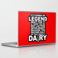himym Laptop & iPad Skins featuring HIMYM: Legendary by dutyfreak
