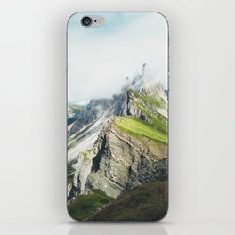 Selva di Val Gardena 13, Alpe di Seceda, Dolomites, Italy iPhone Skin
