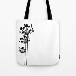 Minimal Floral Tote Bag