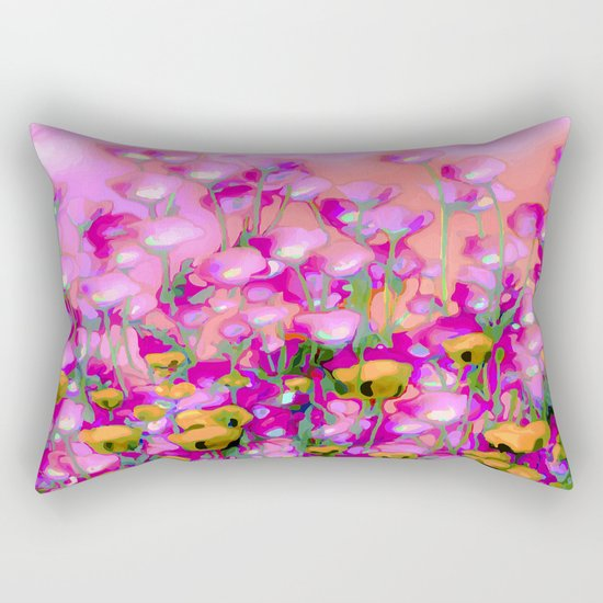 Spring Blush too ... Rectangular Pillow