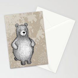 grizzly bear in foliage Stationery Cards