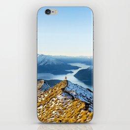 Dancing Peaks iPhone Skin