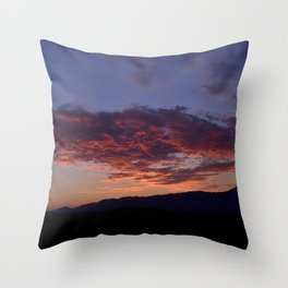 SW Mountain Sunrise - III Throw Pillow