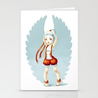 dancer Stationery Cards featuring Dancer by Freeminds