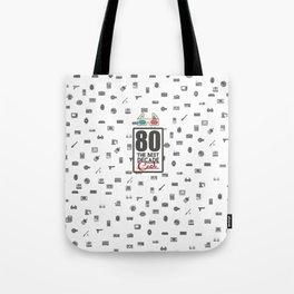 80 Tote Bag