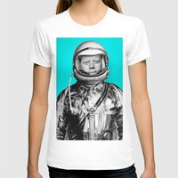 "jfk T-shirts featuring JFK ASTRONAUT (or ""All Systems Are JFK"") by Dan Levin's Objects of Curiosity"
