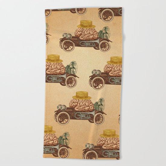 Intelligent Car Beach Towel