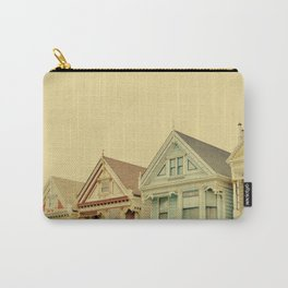 Painted Ladies in San Francisco - Fine Art Photography Carry-All Pouch