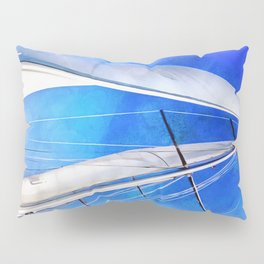 Sailing Unties The Knots Of My Mind Pillow Sham