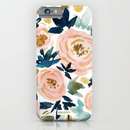 BIG NEWS Bold Floral iPhone Case