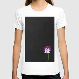 Violet Flower T-shirt