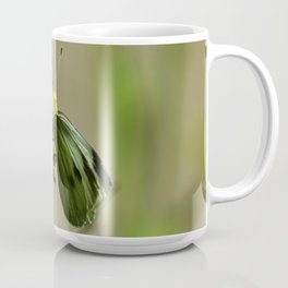 Green Winged Fairy Butterfly Coffee Mug