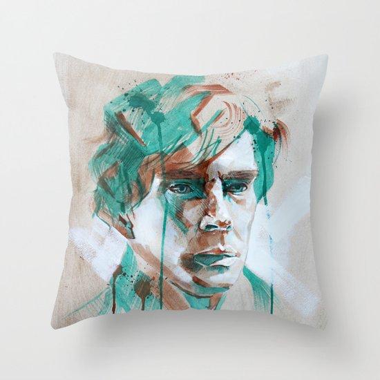 Sherlock Throw Pillow