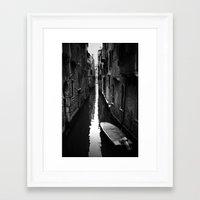 venice Framed Art Prints featuring venice by sustici