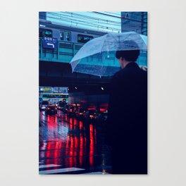 Tokyo Nights / Rain over Tokyo / Liam Wong Canvas Print
