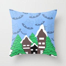 Christmas fantasy Throw Pillow
