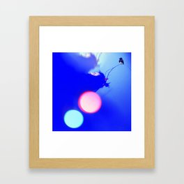Your Moose, Not Your Muse. Framed Art Print