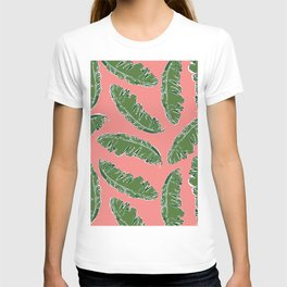 Nouveau Banana Leaf in Lox T-shirt
