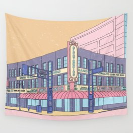 North Center Street - Reno, USA Wall Tapestry