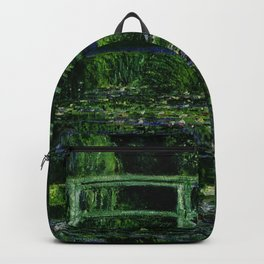 The Water Lily Pond Deep & Dark Backpack