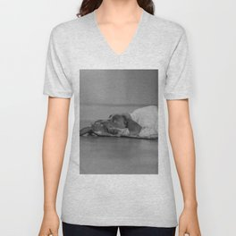 Please, play with me Unisex V-Neck