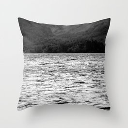 Dancing on the water Throw Pillow