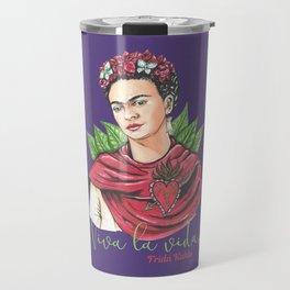Frida Viva la vida Travel Mug