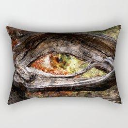 Watcher Of The Woods Rectangular Pillow