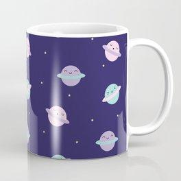Kawaii Pastel Planets Coffee Mug