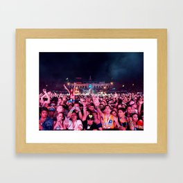 Kinetic Field Framed Art Print