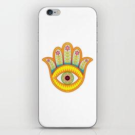 You are loved - Hamsa heart art by Thaneeya McArdle iPhone Skin