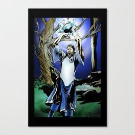 Dirk Nowitzki the eternal Canvas Print