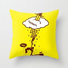 Thunderstruck Throw Pillow