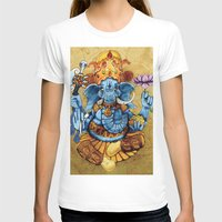 ganesh T-shirts featuring Ganesh by RICHMOND ART STUDIO