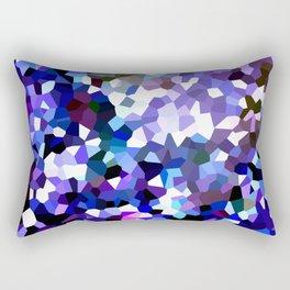 Ultraviolet Mountains Moon Love Rectangular Pillow