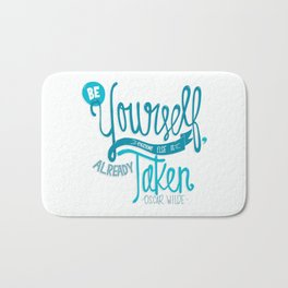 Be Yourself Bath Mat