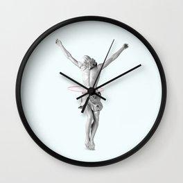 HULA HOOP JESUS Wall Clock