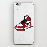 air jordan iPhone & iPod Skins featuring Air Jordan I by shoooes