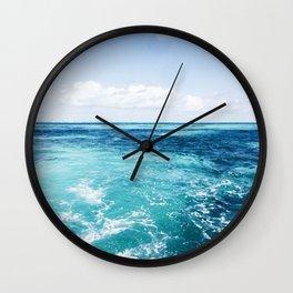 Sea Breeze Wall Clock