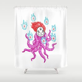 Yurei Shower Curtain