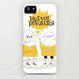 Huevos Revueltos iPhone Case
