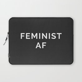 Feminist AF Quote Laptop Sleeve