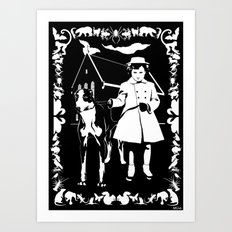 Dependent Personality Disorder (DPD) Art Print